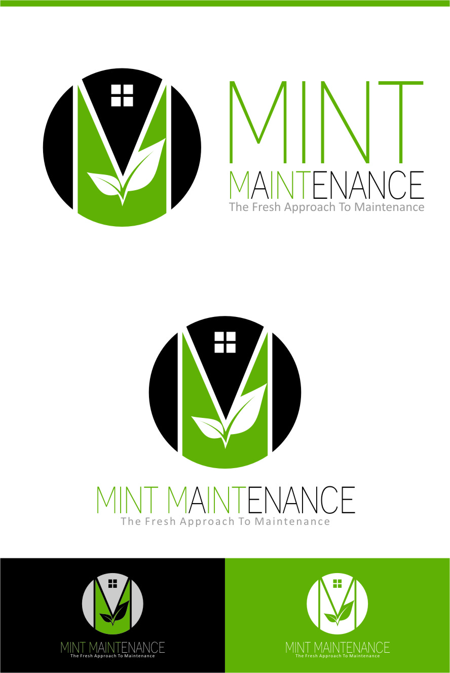 Logo Design by RoSyid Rono-Rene On Java - Entry No. 190 in the Logo Design Contest Creative Logo Design for Mint Maintenance.