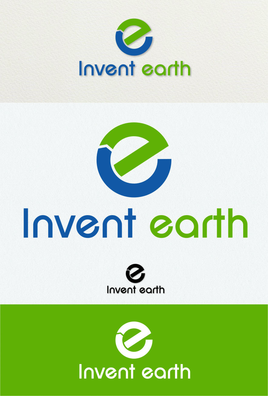 Logo Design by RasYa Muhammad Athaya - Entry No. 77 in the Logo Design Contest Artistic Logo Design for Invent Earth.