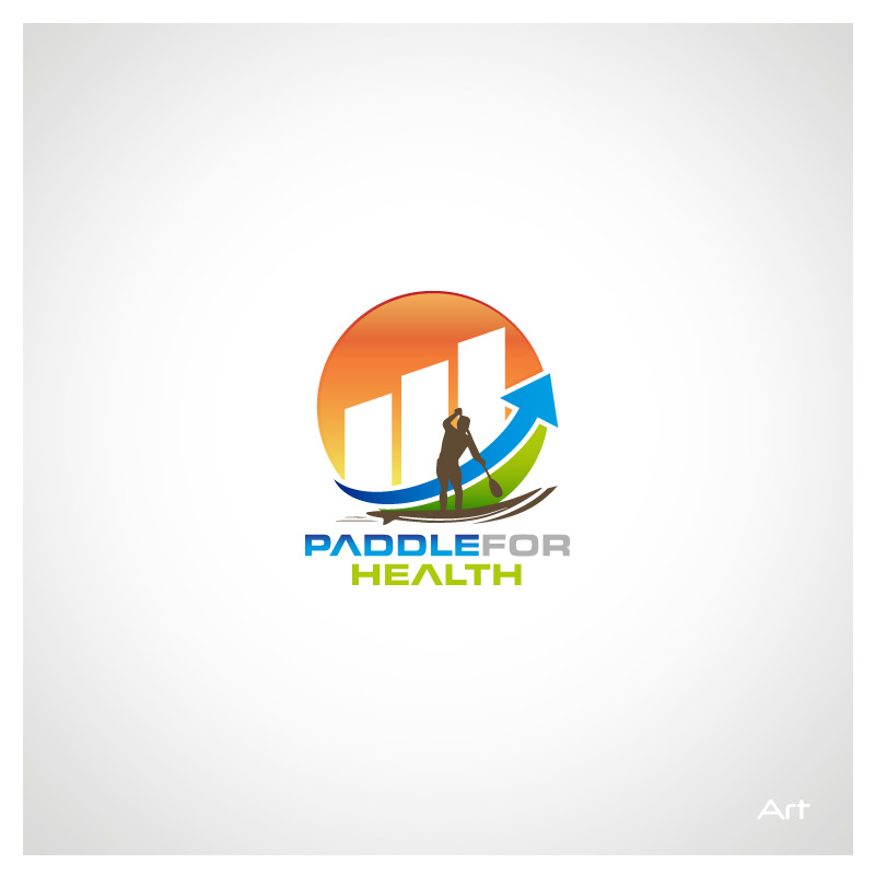 Logo Design by Puspita Wahyuni - Entry No. 6 in the Logo Design Contest Creative Logo Design for Paddle for Health.