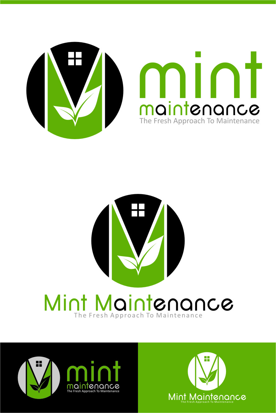 Logo Design by Ngepet_art - Entry No. 195 in the Logo Design Contest Creative Logo Design for Mint Maintenance.
