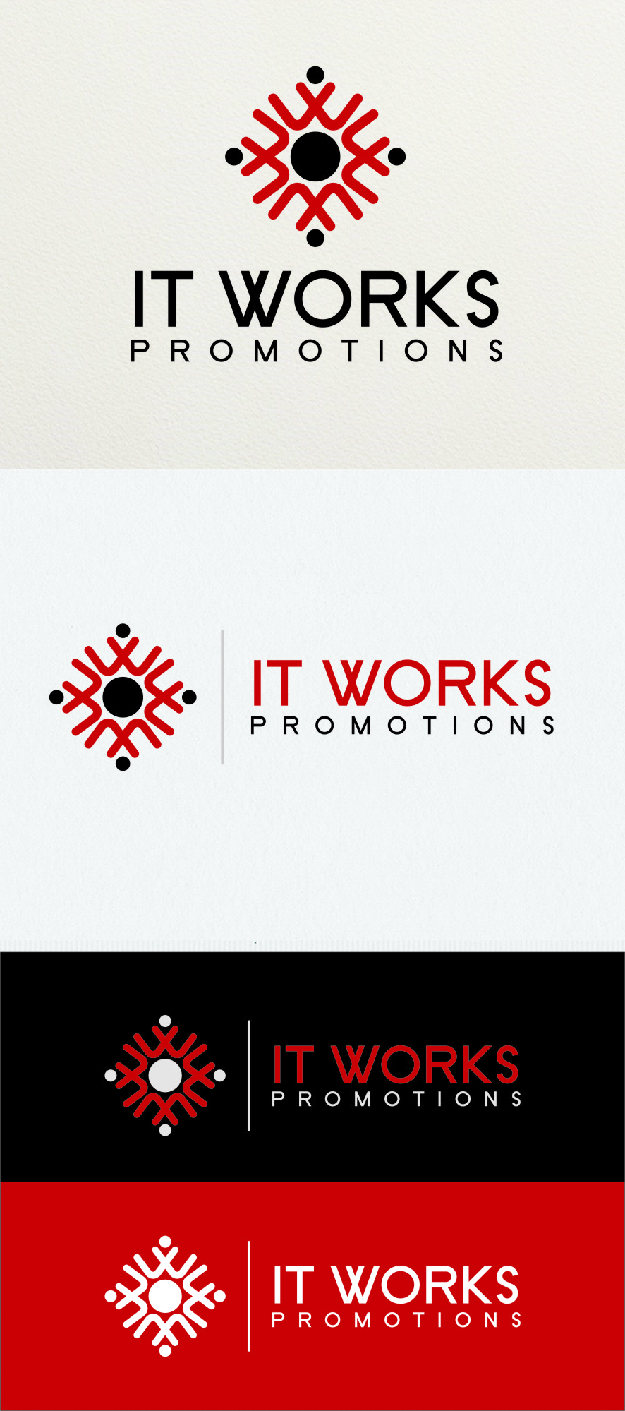 Logo Design by RoSyid Rono-Rene On Java - Entry No. 177 in the Logo Design Contest Creative Logo Design for It Works Promotions.