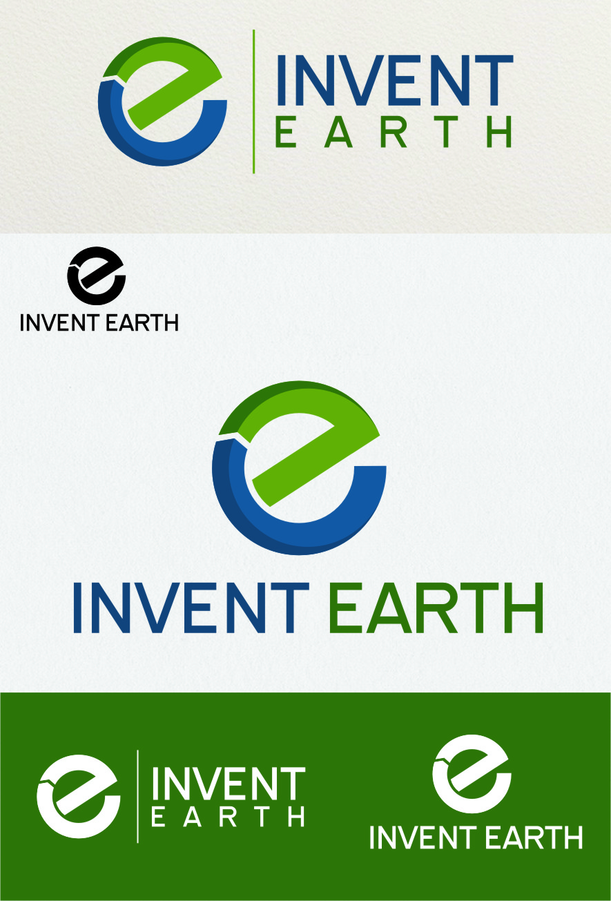 Logo Design by RasYa Muhammad Athaya - Entry No. 79 in the Logo Design Contest Artistic Logo Design for Invent Earth.