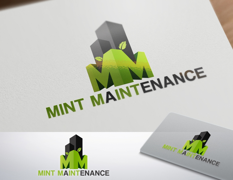 Logo Design by Juan_Kata - Entry No. 197 in the Logo Design Contest Creative Logo Design for Mint Maintenance.