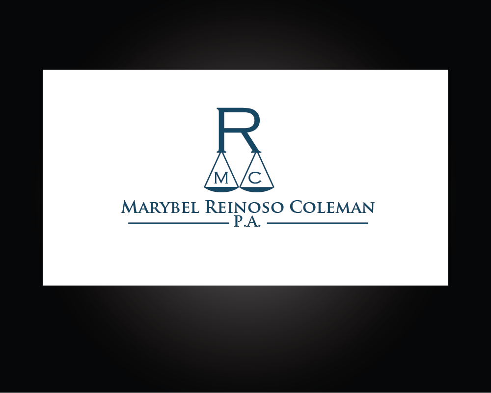 Logo Design by roc - Entry No. 22 in the Logo Design Contest Creative Logo Design for Marybel Reinoso Coleman P.A..