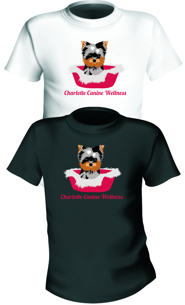 Logo Design by Ngepet_art - Entry No. 10 in the Logo Design Contest New Logo Design for Charlotte Canine Wellness.