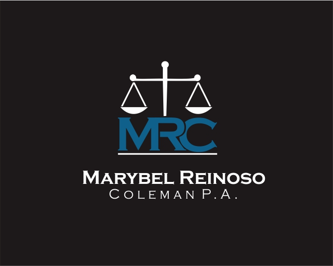 Logo Design by ronny - Entry No. 23 in the Logo Design Contest Creative Logo Design for Marybel Reinoso Coleman P.A..