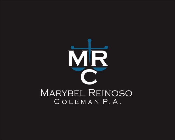 Logo Design by ronny - Entry No. 24 in the Logo Design Contest Creative Logo Design for Marybel Reinoso Coleman P.A..
