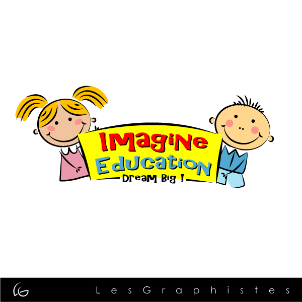 Logo Design by Les-Graphistes - Entry No. 14 in the Logo Design Contest Imagine Education.