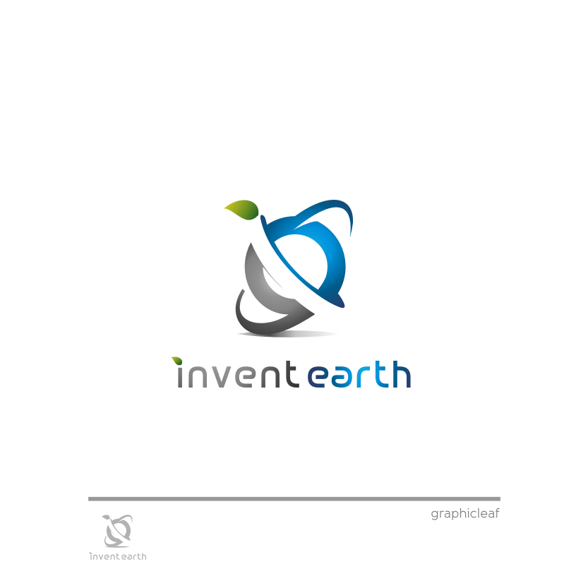 Logo Design by graphicleaf - Entry No. 84 in the Logo Design Contest Artistic Logo Design for Invent Earth.