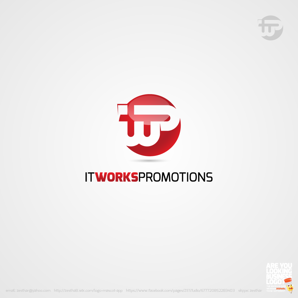 Logo Design by zesthar - Entry No. 185 in the Logo Design Contest Creative Logo Design for It Works Promotions.