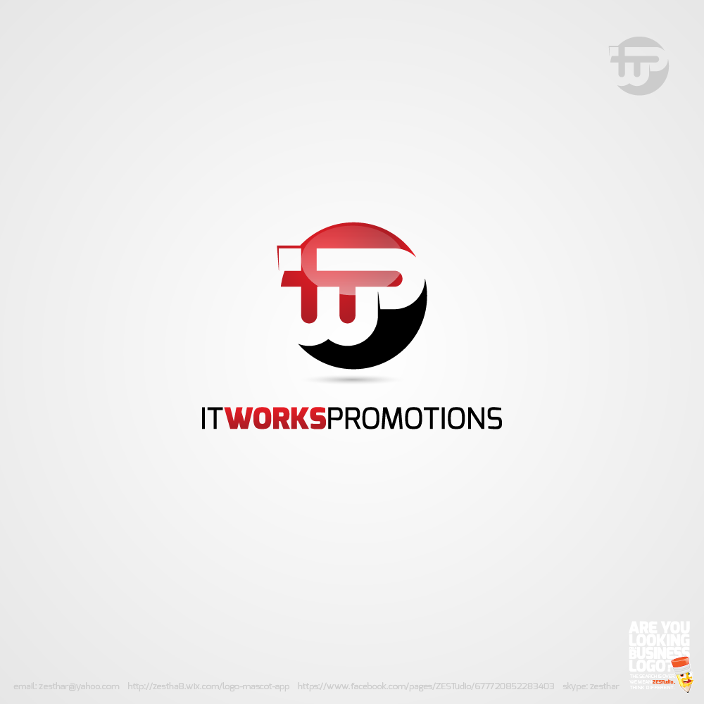 Logo Design by zesthar - Entry No. 186 in the Logo Design Contest Creative Logo Design for It Works Promotions.