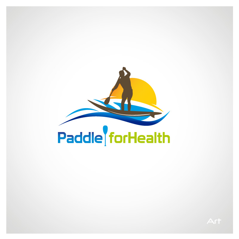 Logo Design by Puspita Wahyuni - Entry No. 10 in the Logo Design Contest Creative Logo Design for Paddle for Health.