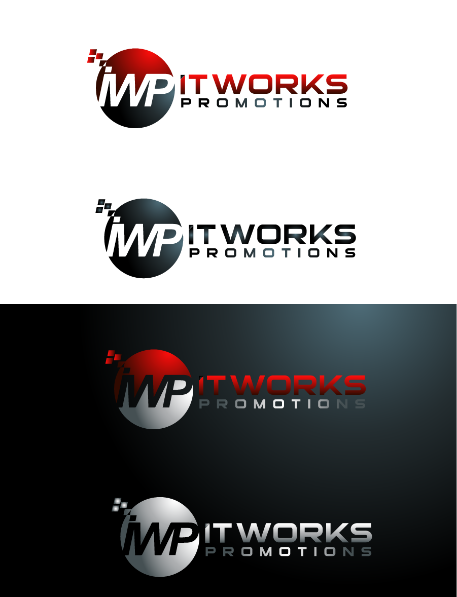 Logo Design by Private User - Entry No. 196 in the Logo Design Contest Creative Logo Design for It Works Promotions.