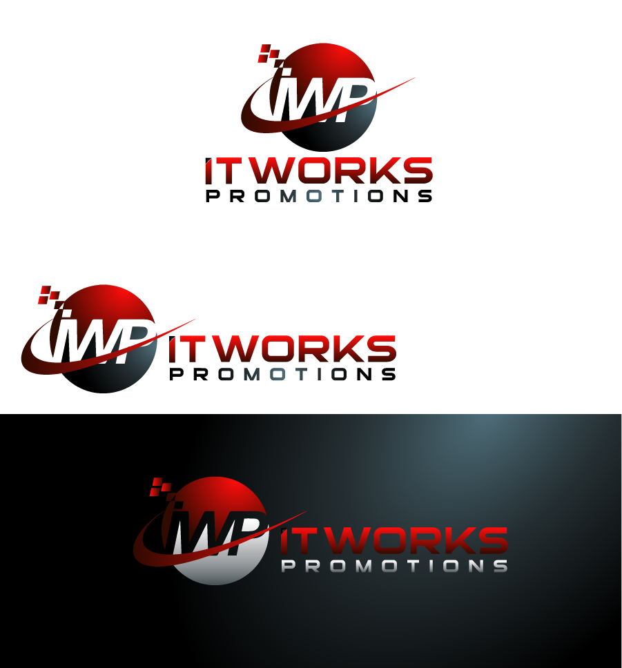 Logo Design by Private User - Entry No. 197 in the Logo Design Contest Creative Logo Design for It Works Promotions.
