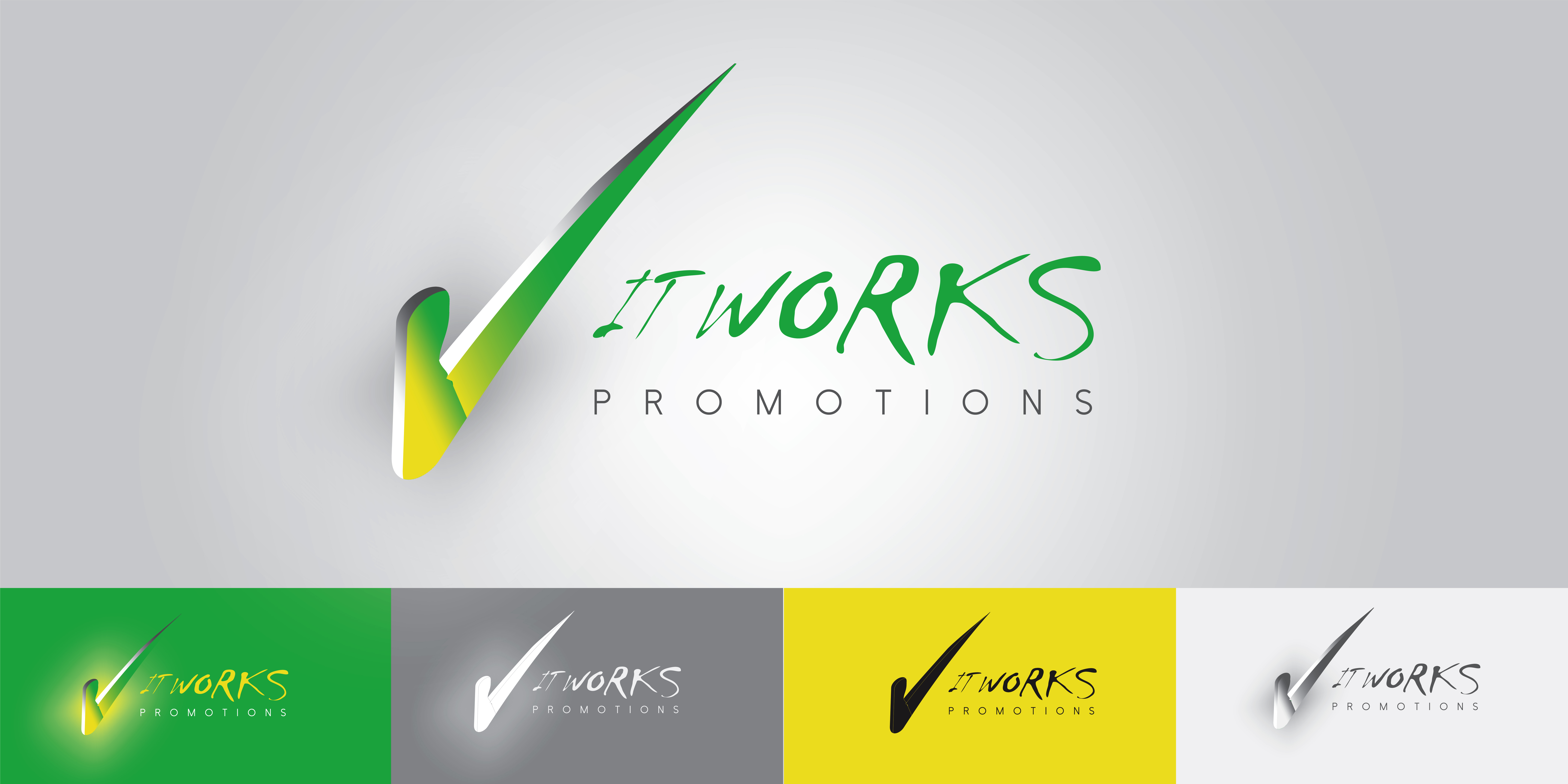 Logo Design by Private User - Entry No. 199 in the Logo Design Contest Creative Logo Design for It Works Promotions.