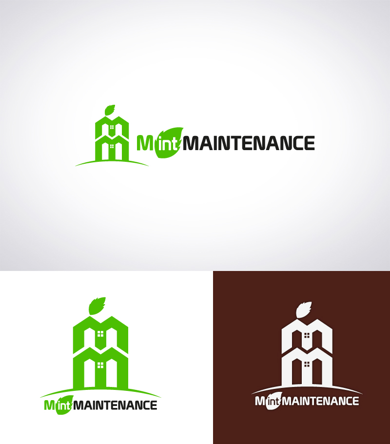 Logo Design by Puspita Wahyuni - Entry No. 203 in the Logo Design Contest Creative Logo Design for Mint Maintenance.