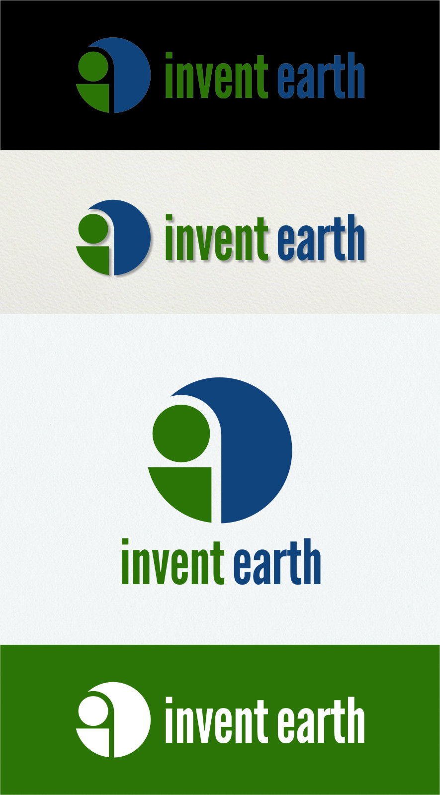 Logo Design by Ngepet_art - Entry No. 87 in the Logo Design Contest Artistic Logo Design for Invent Earth.