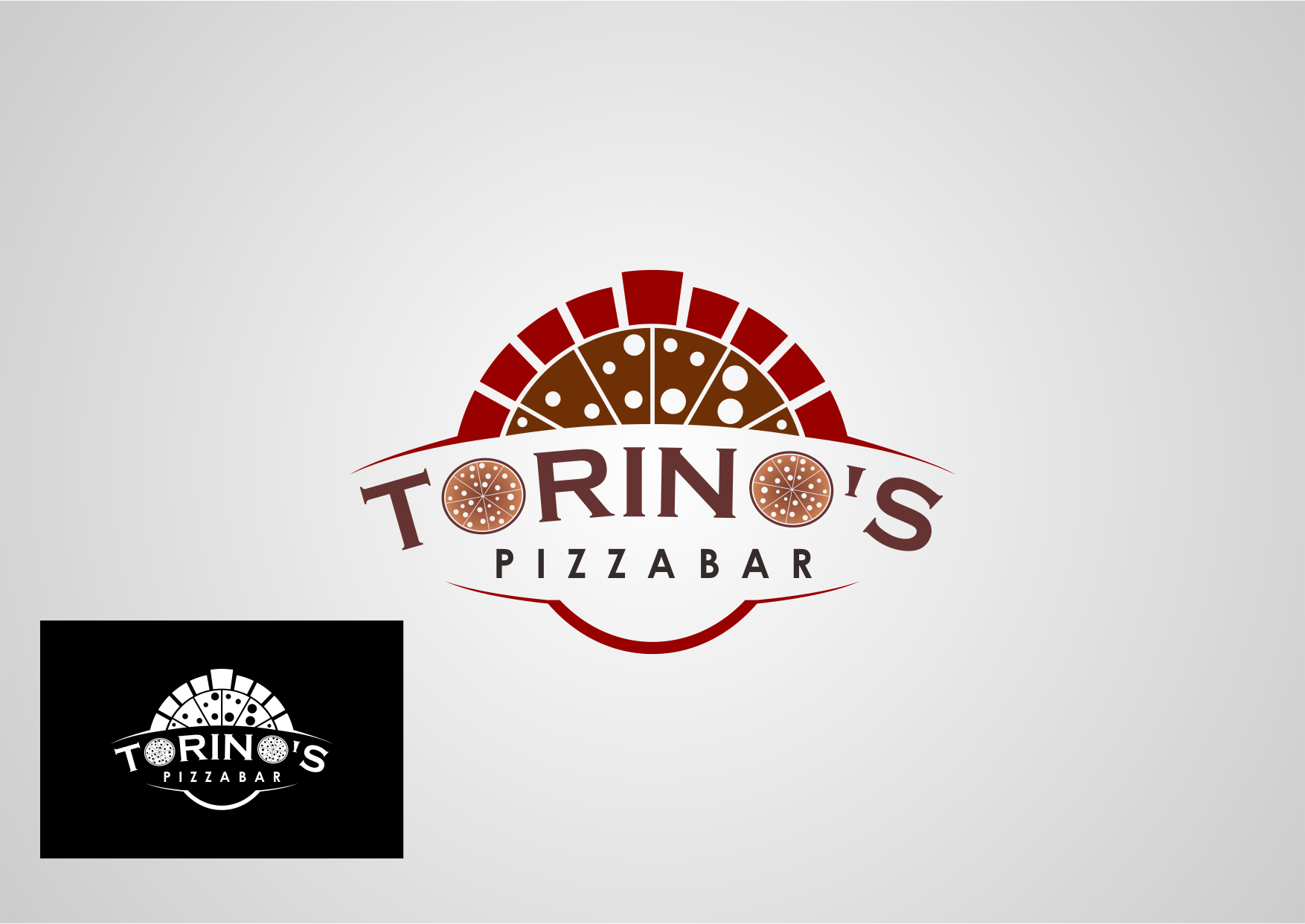 Custom Design by Private User - Entry No. 33 in the Custom Design Contest Torino's Pizza Bar Custom Design.