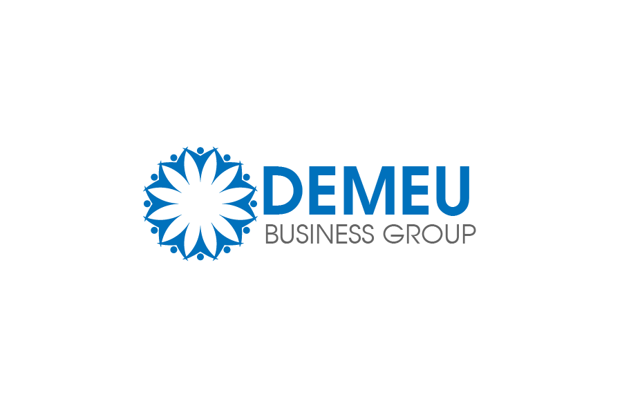 Logo Design by brands_in - Entry No. 81 in the Logo Design Contest Captivating Logo Design for DEMEU Business Group.
