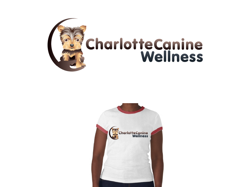 Logo Design by Private User - Entry No. 12 in the Logo Design Contest New Logo Design for Charlotte Canine Wellness.