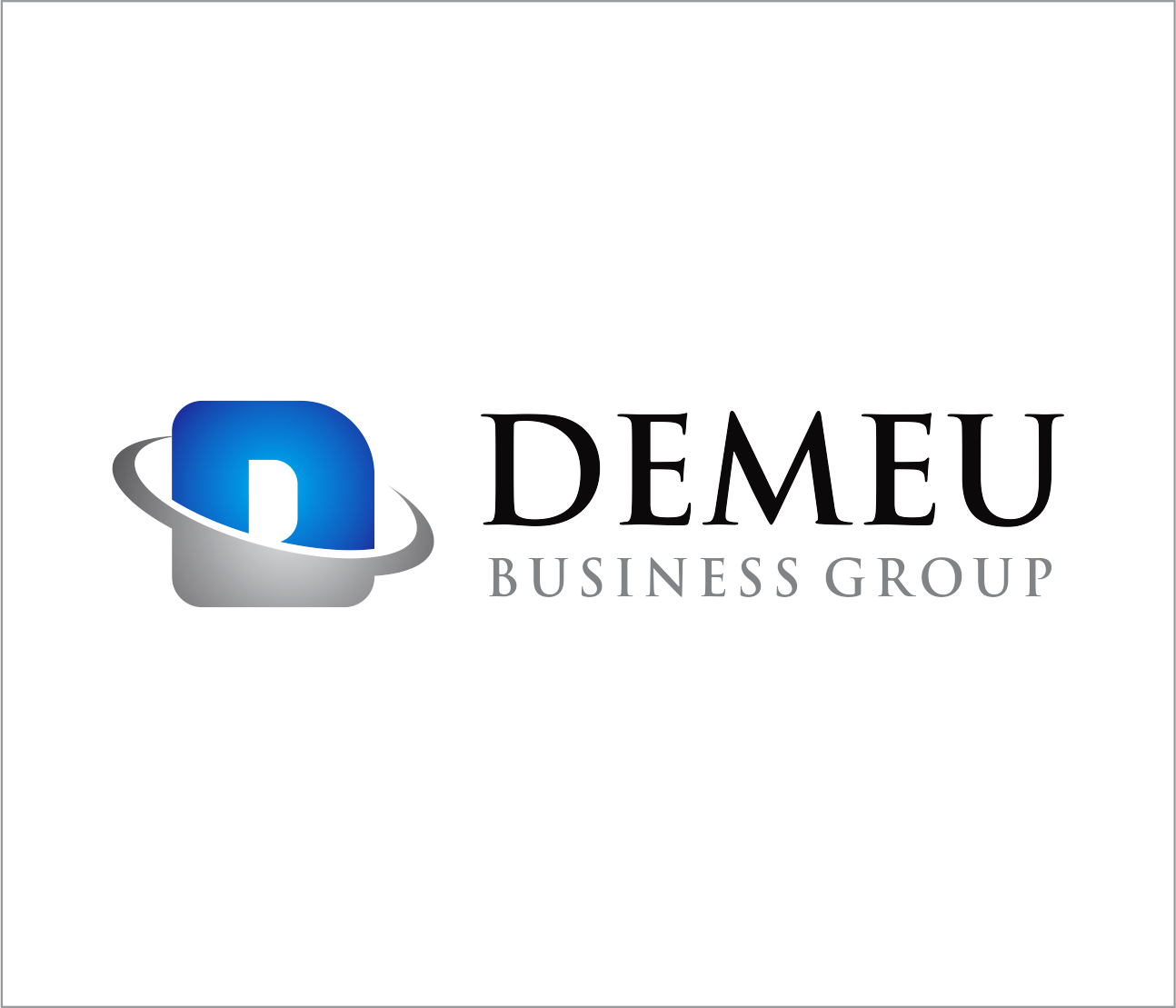 Logo Design by Armada Jamaluddin - Entry No. 82 in the Logo Design Contest Captivating Logo Design for DEMEU Business Group.