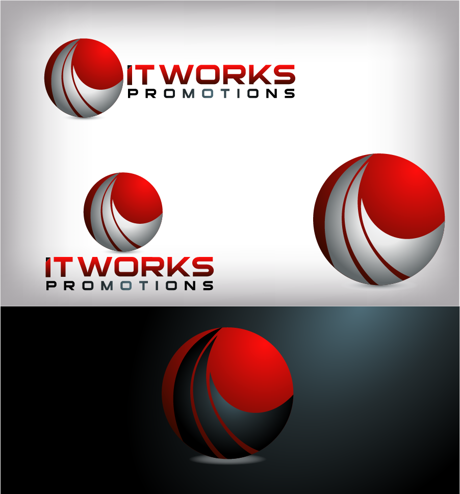 Logo Design by Private User - Entry No. 206 in the Logo Design Contest Creative Logo Design for It Works Promotions.
