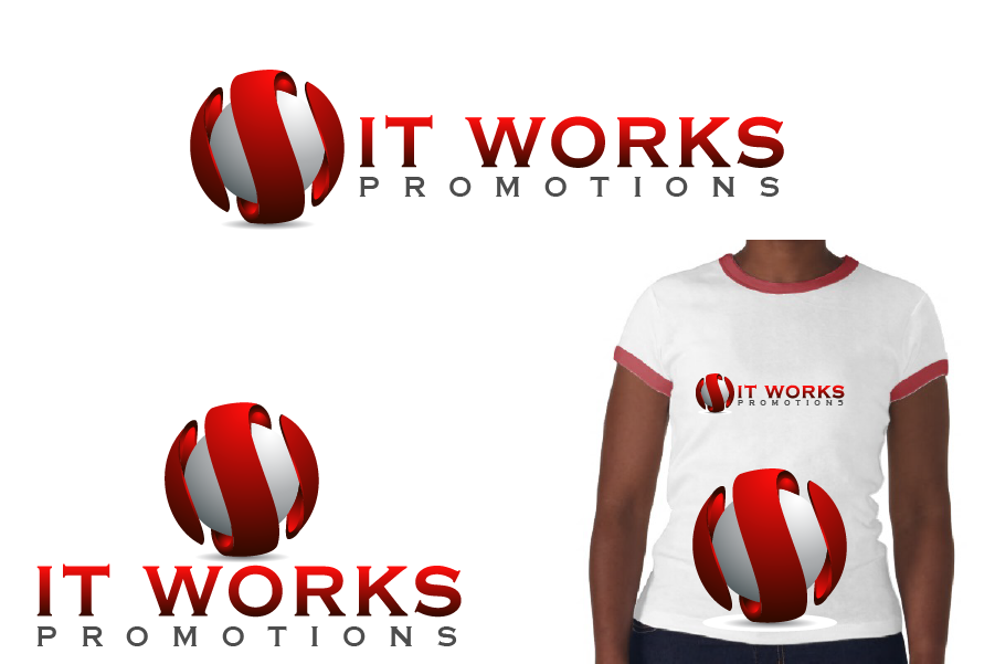 Logo Design by Private User - Entry No. 207 in the Logo Design Contest Creative Logo Design for It Works Promotions.