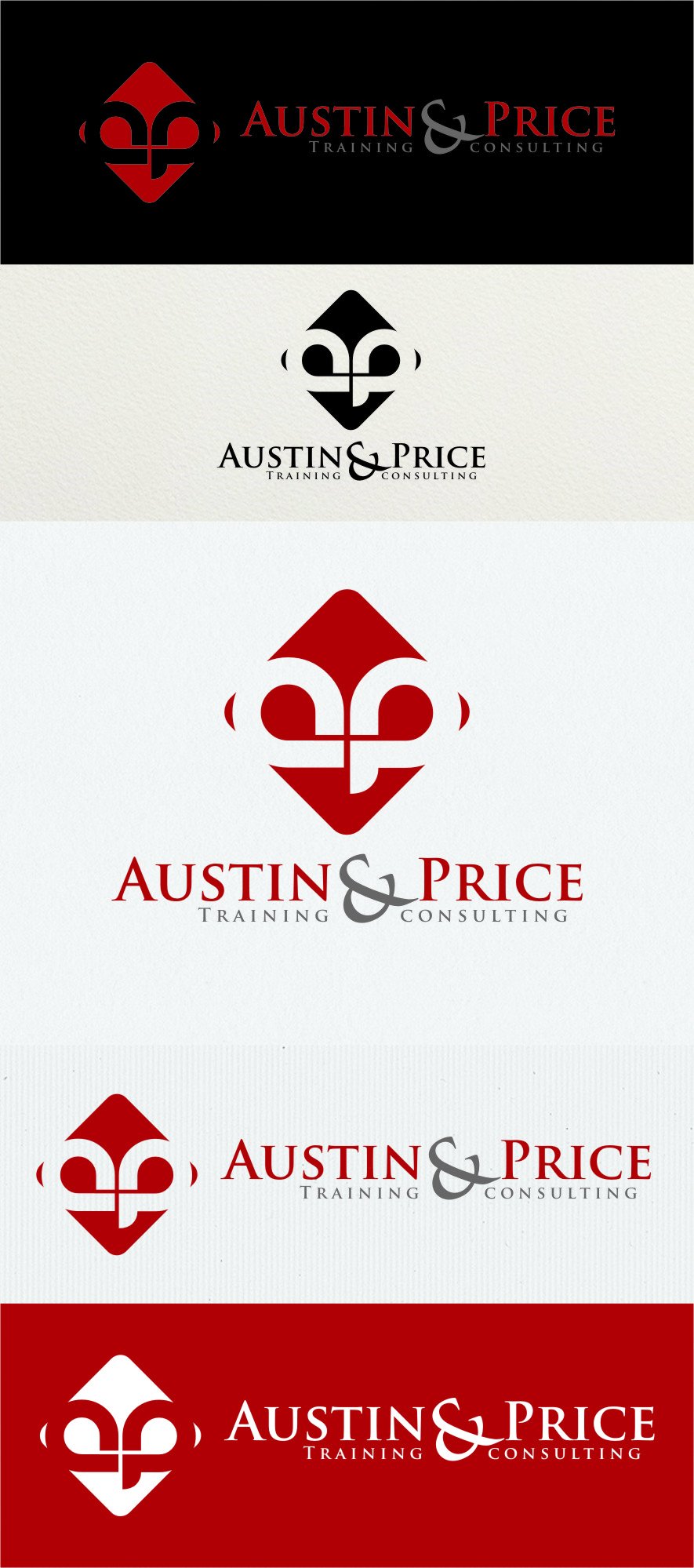 Logo Design by RasYa Muhammad Athaya - Entry No. 122 in the Logo Design Contest Artistic Logo Design for Austin Price Advisory.