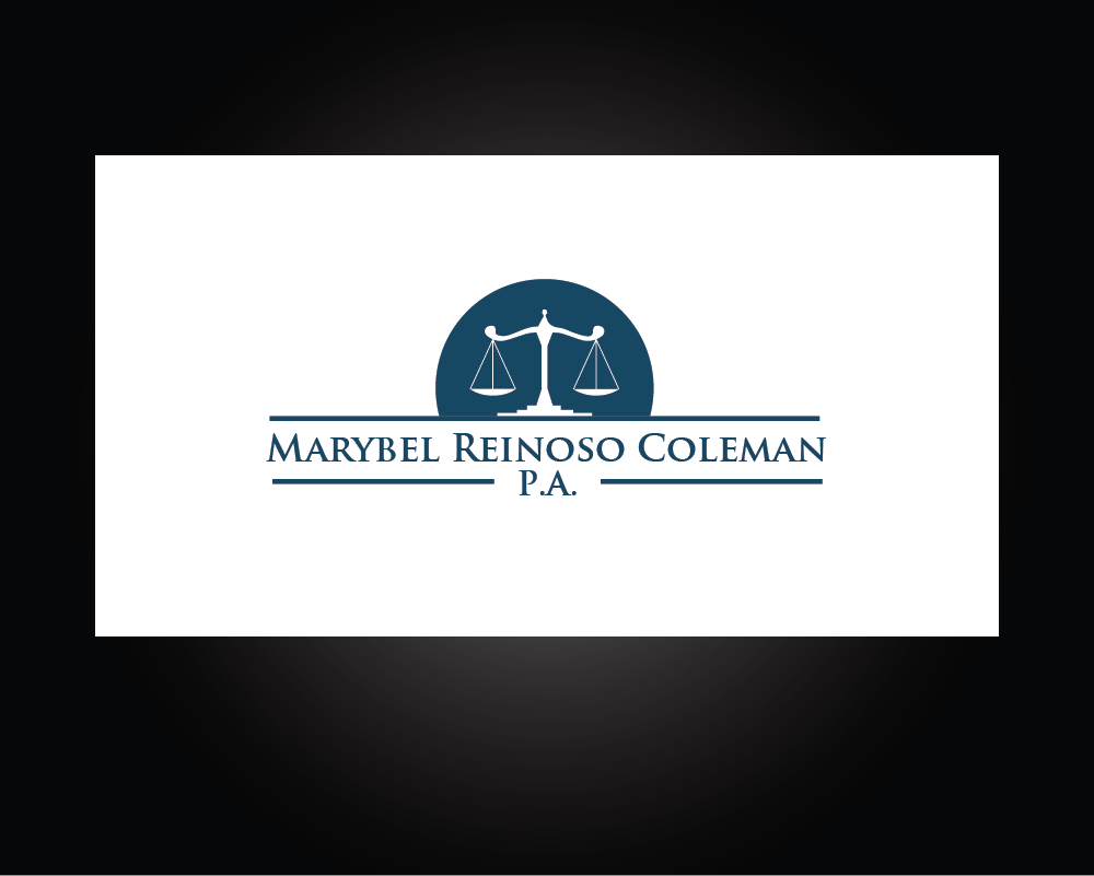 Logo Design by roc - Entry No. 25 in the Logo Design Contest Creative Logo Design for Marybel Reinoso Coleman P.A..