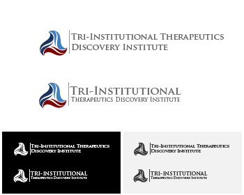Logo Design by Private User - Entry No. 87 in the Logo Design Contest Inspiring Logo Design for Tri-Institutional Therapeutics Discovery Institute.