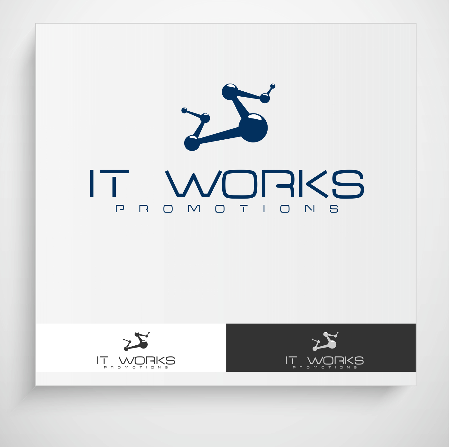 Logo Design by Krzysztof Mokanek - Entry No. 230 in the Logo Design Contest Creative Logo Design for It Works Promotions.