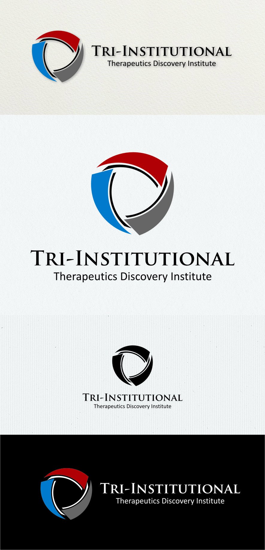 Logo Design by Ngepet_art - Entry No. 93 in the Logo Design Contest Inspiring Logo Design for Tri-Institutional Therapeutics Discovery Institute.