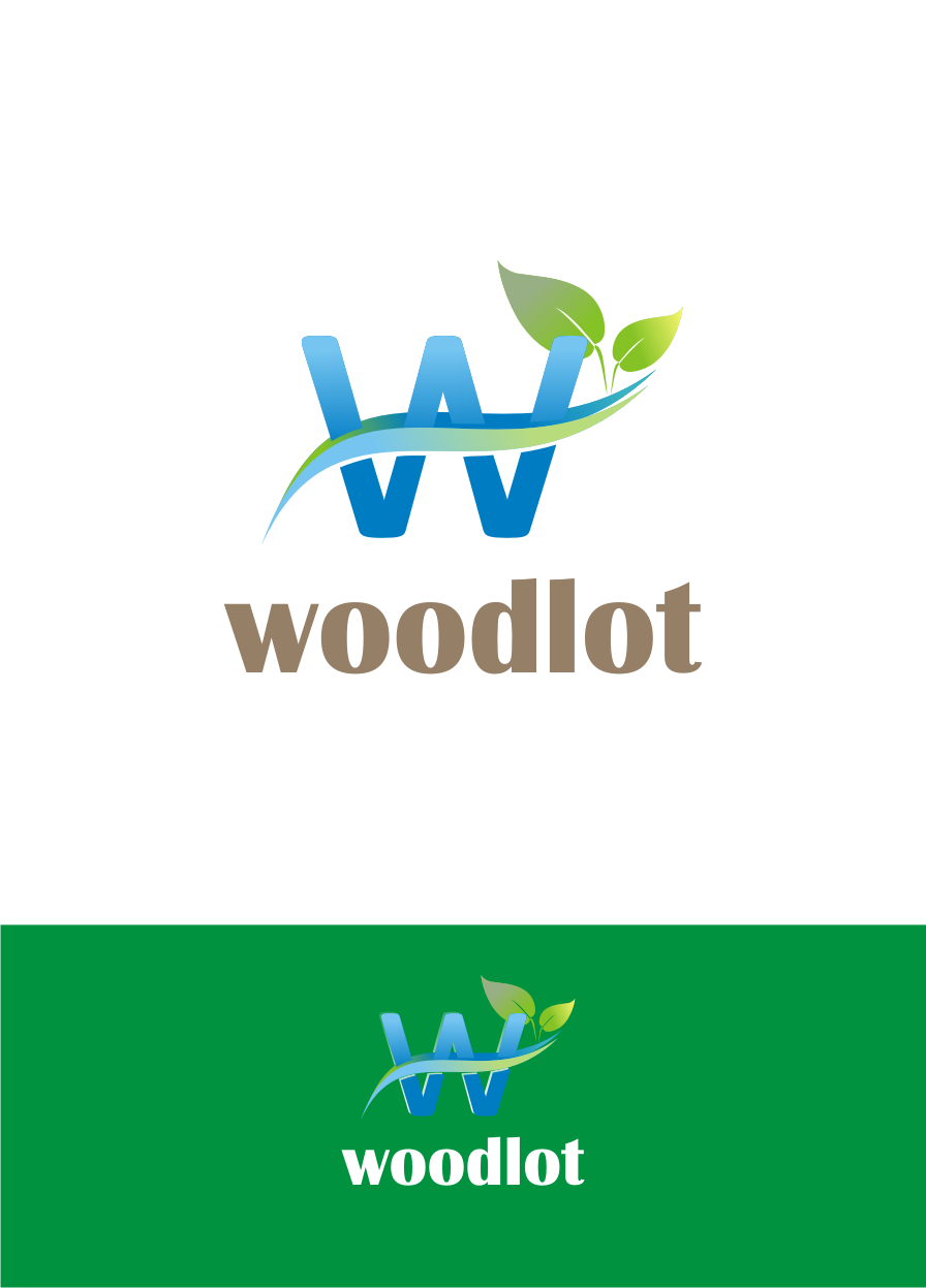 Logo Design by Nthus Nthis - Entry No. 1 in the Logo Design Contest Fun Logo Design for woodlot.