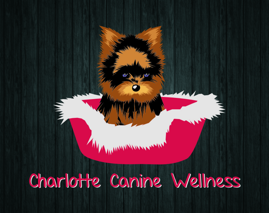 Logo Design by Ngepet_art - Entry No. 20 in the Logo Design Contest New Logo Design for Charlotte Canine Wellness.