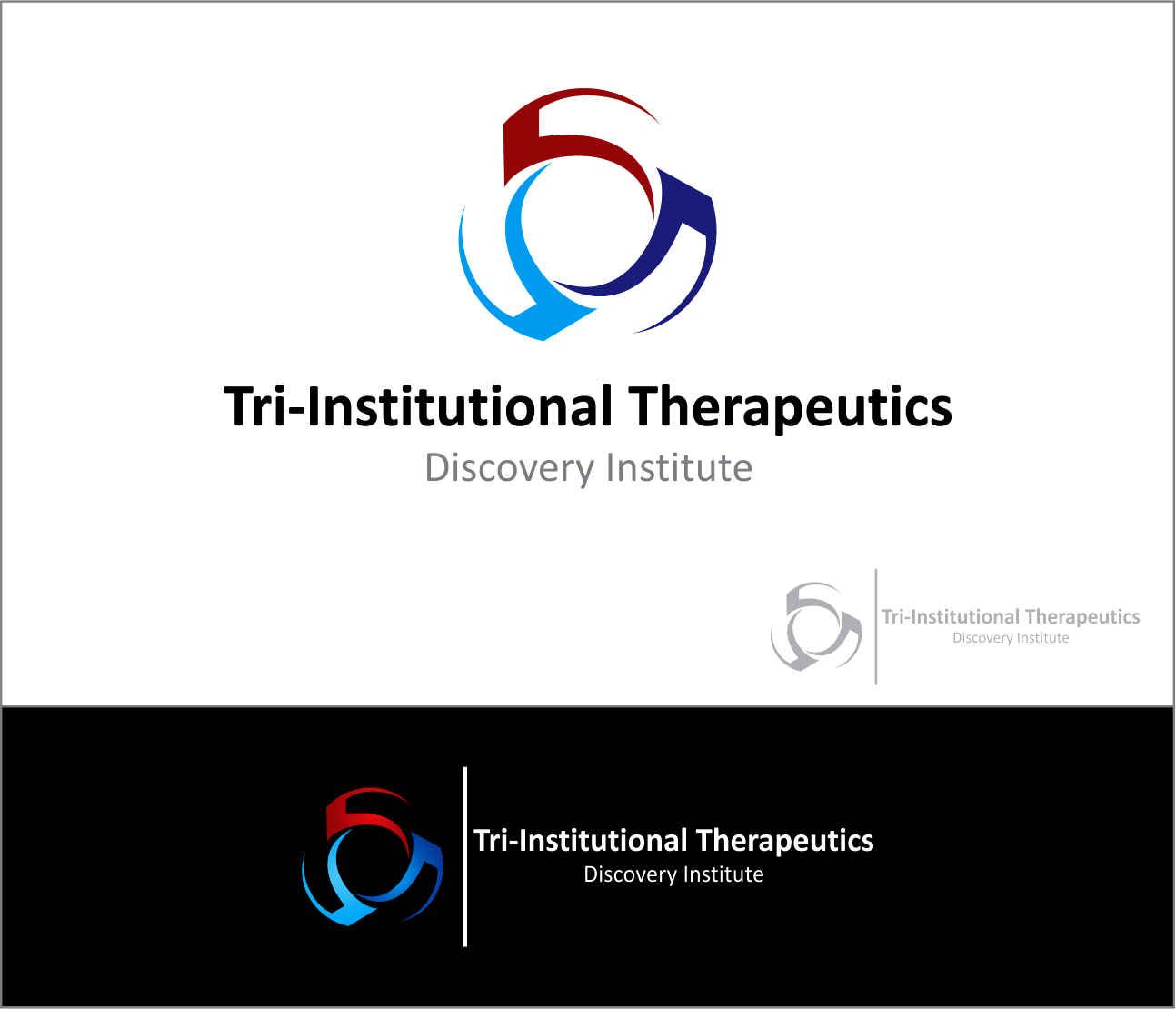Logo Design by Armada Jamaluddin - Entry No. 101 in the Logo Design Contest Inspiring Logo Design for Tri-Institutional Therapeutics Discovery Institute.