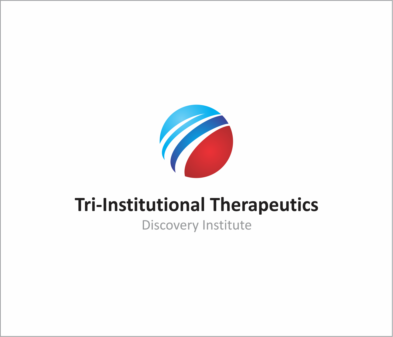 Logo Design by Armada Jamaluddin - Entry No. 103 in the Logo Design Contest Inspiring Logo Design for Tri-Institutional Therapeutics Discovery Institute.