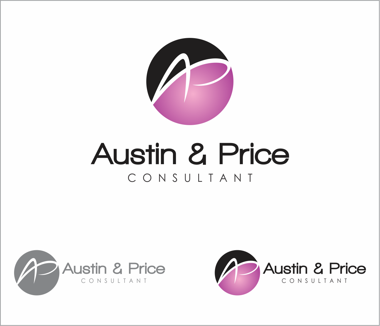 Logo Design by Armada Jamaluddin - Entry No. 154 in the Logo Design Contest Artistic Logo Design for Austin Price Advisory.