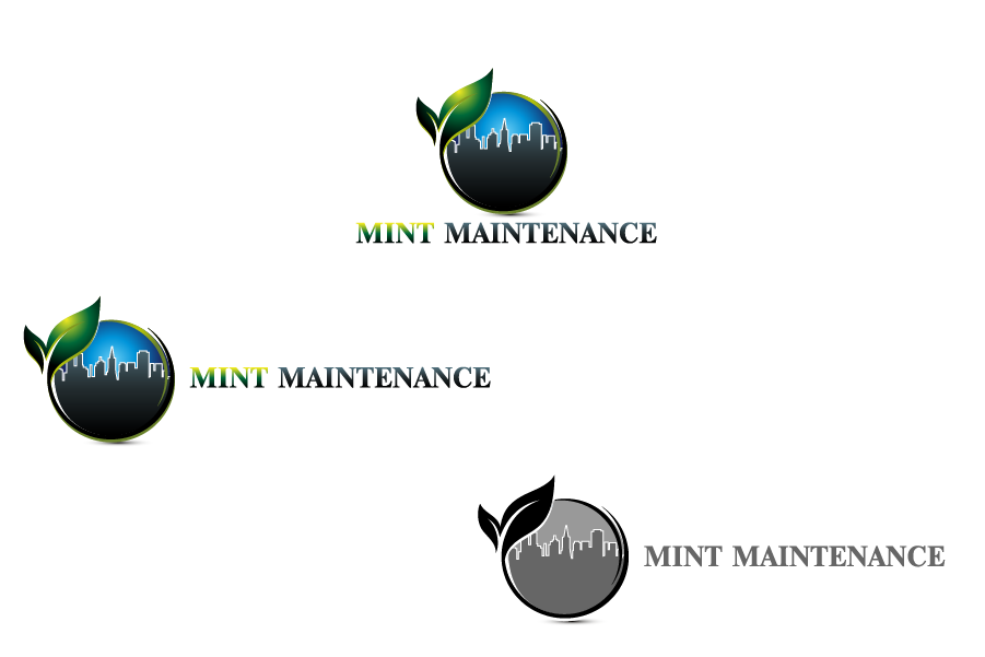 Logo Design by Private User - Entry No. 213 in the Logo Design Contest Creative Logo Design for Mint Maintenance.