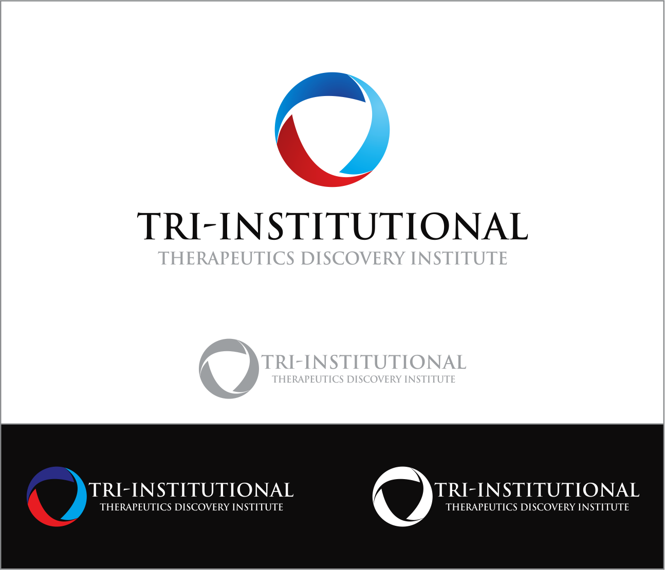 Logo Design by Armada Jamaluddin - Entry No. 105 in the Logo Design Contest Inspiring Logo Design for Tri-Institutional Therapeutics Discovery Institute.