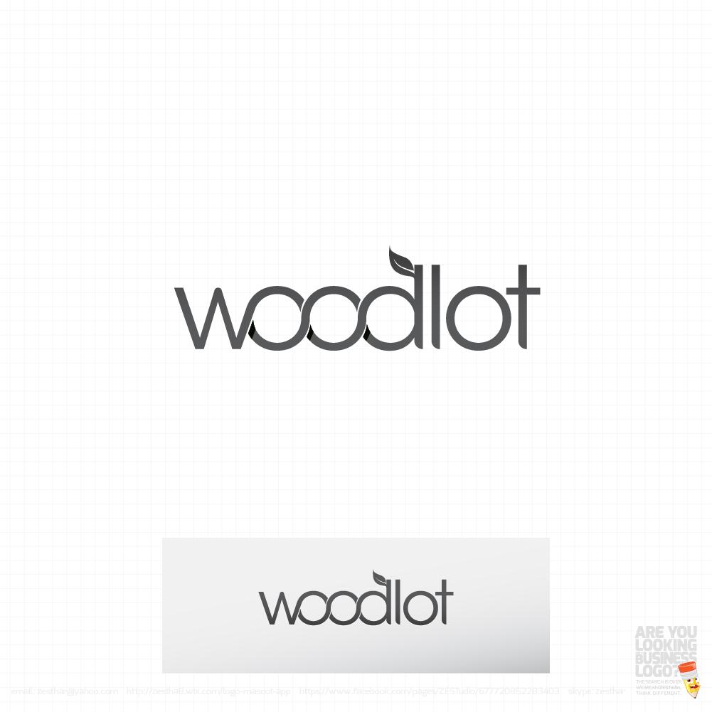 Logo Design by zesthar - Entry No. 18 in the Logo Design Contest Fun Logo Design for woodlot.