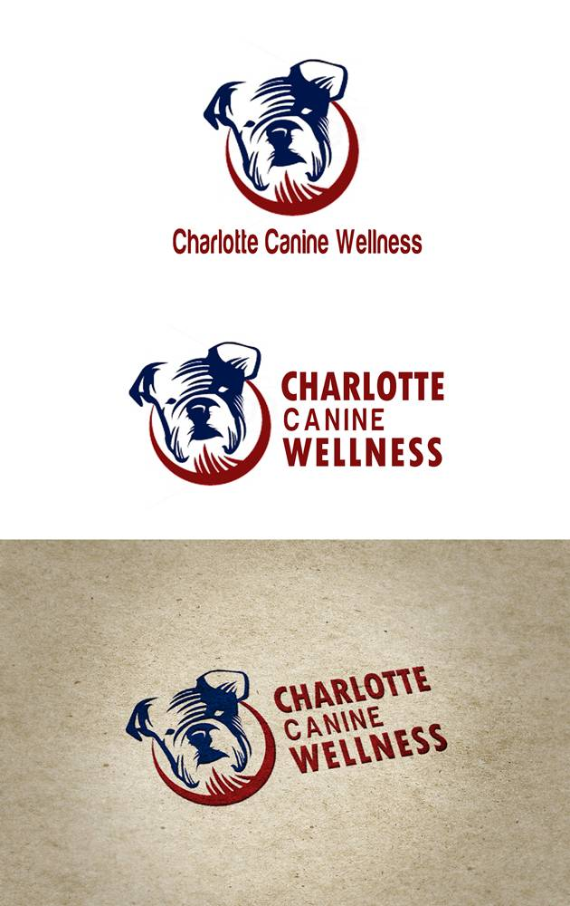 Logo Design by Respati Himawan - Entry No. 21 in the Logo Design Contest New Logo Design for Charlotte Canine Wellness.