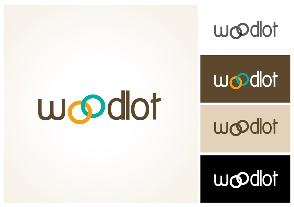 Logo Design by Respati Himawan - Entry No. 20 in the Logo Design Contest Fun Logo Design for woodlot.