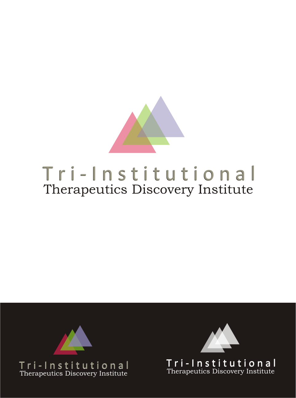 Logo Design by Nthus Nthis - Entry No. 118 in the Logo Design Contest Inspiring Logo Design for Tri-Institutional Therapeutics Discovery Institute.