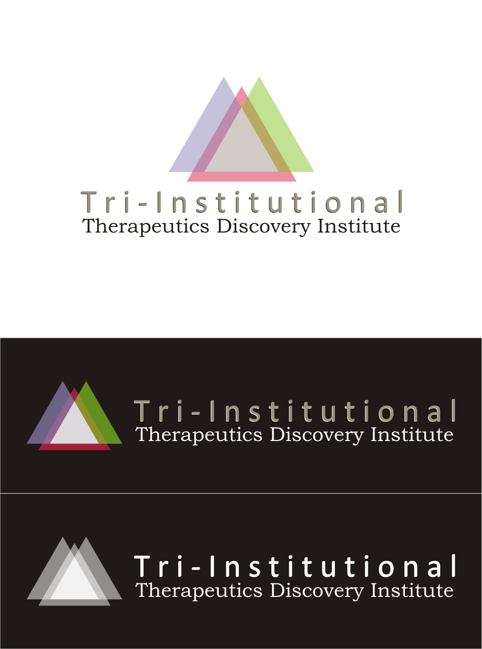 Logo Design by Nthus Nthis - Entry No. 119 in the Logo Design Contest Inspiring Logo Design for Tri-Institutional Therapeutics Discovery Institute.
