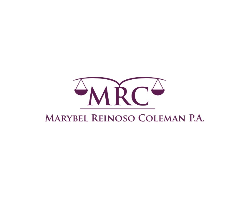 Logo Design by untung - Entry No. 26 in the Logo Design Contest Creative Logo Design for Marybel Reinoso Coleman P.A..