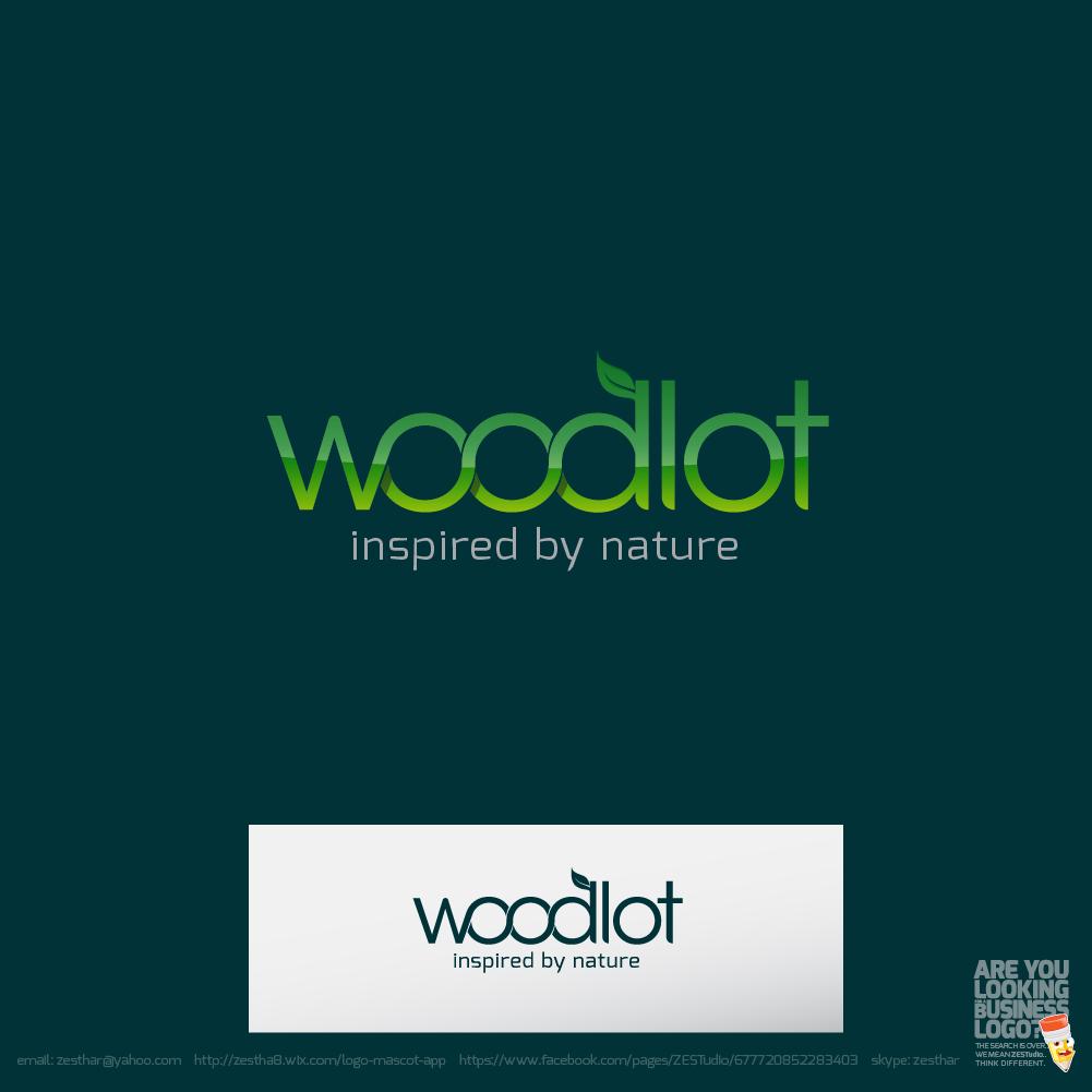 Logo Design by zesthar - Entry No. 21 in the Logo Design Contest Fun Logo Design for woodlot.