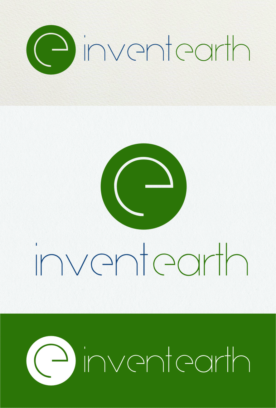 Logo Design by RasYa Muhammad Athaya - Entry No. 125 in the Logo Design Contest Artistic Logo Design for Invent Earth.
