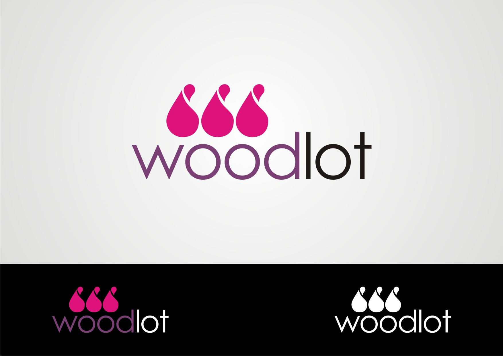 Logo Design by Private User - Entry No. 22 in the Logo Design Contest Fun Logo Design for woodlot.