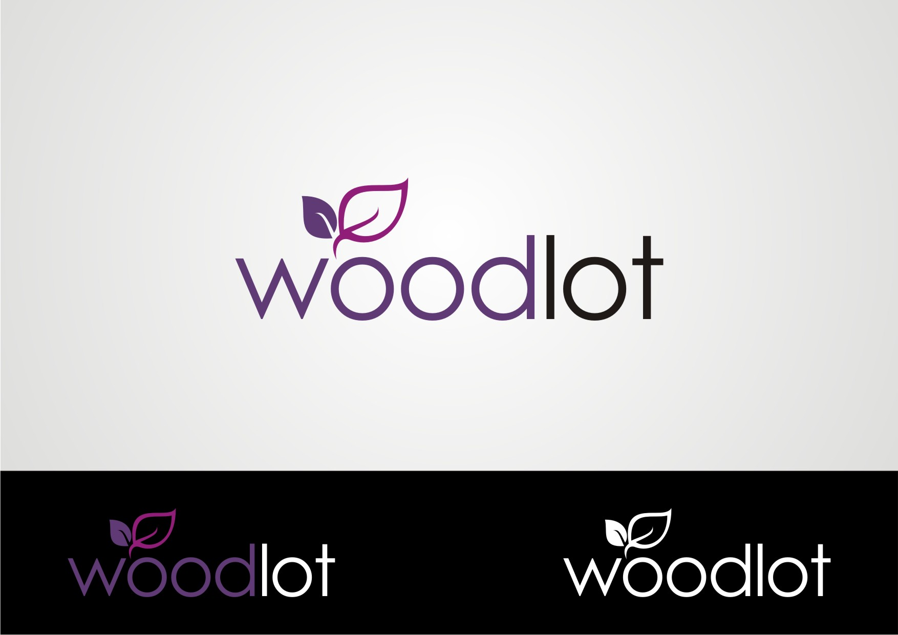 Logo Design by Private User - Entry No. 23 in the Logo Design Contest Fun Logo Design for woodlot.