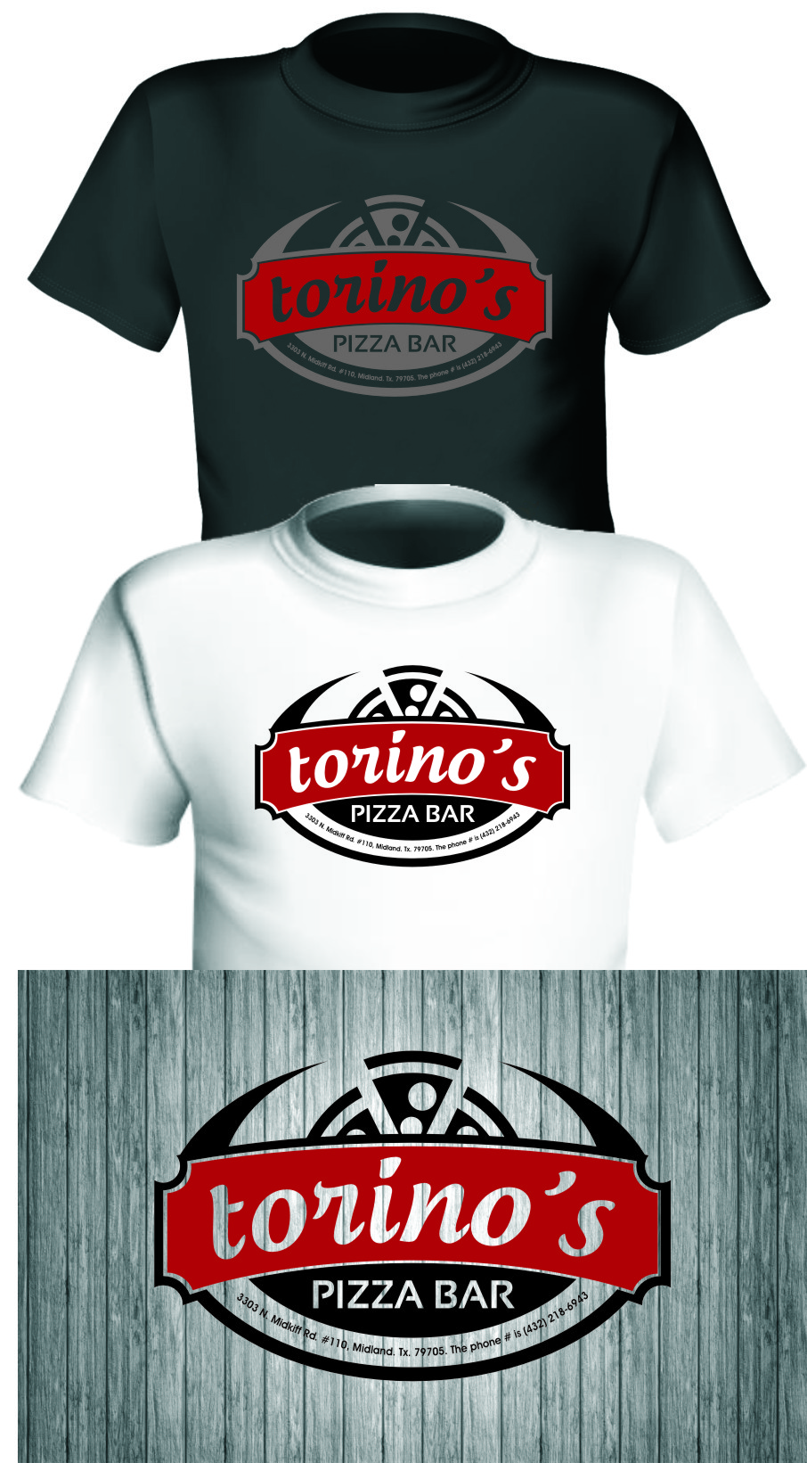 Custom Design by Ngepet_art - Entry No. 42 in the Custom Design Contest Torino's Pizza Bar Custom Design.